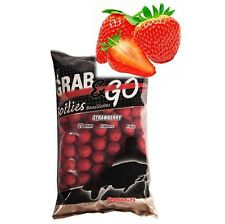 Strawberry Fishing Boilies