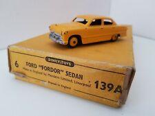 "Dinky Meccano Original Empty Trade Box 139A Ford ""Fordor"" Sedan"