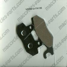Piaggio Vespa Disc Brake Pads GTX125 Super Hexagon 2001-2002 Front (1 set)
