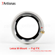 7artisans Lens Adapter Ring for Leica M-Mount Lens to Fuji FX X-T1 X-T10
