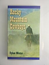 "VHS Tape ~ ""Rocky Mountain Cowboys"" by Dylan Winter. Wyoming Cattle Ranching"