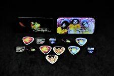 Dunlop Jimi Hendrix Heavy & Medium Gauge Guitar Picks, 12 Pack 2 Tins