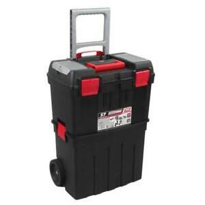 Toolbox Trolley 120kg capacity 2 large compartments