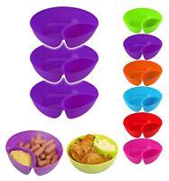 Set of 3 Snack Bowl Children Bowl Kids Bowls SERVING TRAY DISHES Tapas Chip/Dip