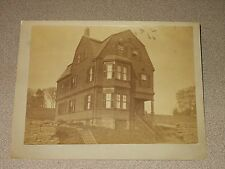 Vintage 1890's Picture Hendy House Highland St.  Roxbury, Massachusetts