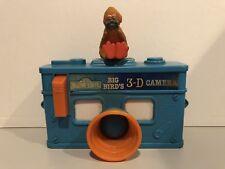 Big Bird Sesame Street Vintage Alphabet Toy Camera ABC 3D Viewer THE MUPPETS!
