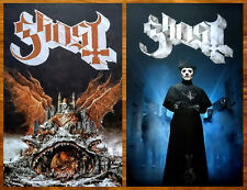 GHOST Prequelle 2018 Ltd Ed New RARE Litho Poster +FREE Metal Hard Rock Poster!