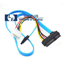 New SAS Serial Attached SCSI SFF-8482 to SATA Converter Adapter Cord Cable