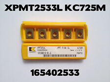Kennametal Carbide Insert XPMT2533L KC725M QTY 5 in Package NEW Overstock