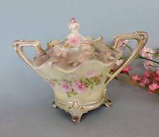 Art Nouveau  RS Prussia Sugar  Bowl