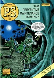 PS The Preventive Maintenance Monthly #546 FN+ 6.5 1998 Stock Image