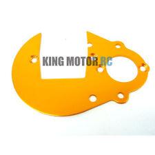 King Motor Arancione Alluminio Sperone Ingranaggio Piastra per 1/5 Hpi Baja 5b