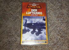 """VHS - """"Der Luftkrieg"""" 1939-1945, TIME LIFE, 2.Weltkrieg"""