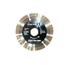 "FORCE-X Toolpak 4-1/2"" 115mm Diamond Cutting Blade,Brick/Reinforced Metal,DBX115"
