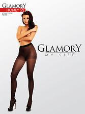 Glamory Honey 20 Feinstrumpfhose gemustert mit Matt-Effekt - bis Größe 58, 50520