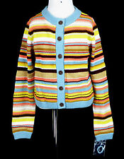 207 NWOT Missoni for Target Girl Chevron Cardigan Sweater Multi-color top NEW S