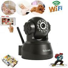Sricam CMOS HD Wifi IP Camera Wireless CCTV Baby/Pet Surveillance Webcam IR-CUT