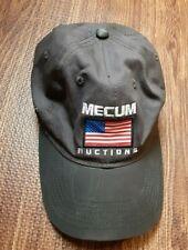Mecum Car Auctions Cap Gold Bidder USA Flag Hat Kissimmee 2019 Baseball Trucker