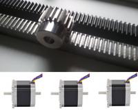 Rack & Pinion Stepper motors for CNC plasma kit 5' x 5' XY