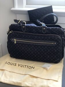 Authentic Louis Vuitton Mini Lin Diaper Bag Tote Crossbody