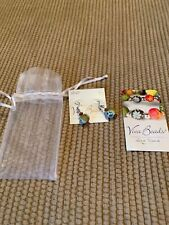 Viva Beads Earrings With Designs  New