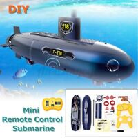 6 Channels Mini RC Submarine Christmas Gifts Kids Remote Control Water Boat Ship