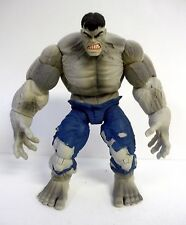 "MARVEL LEGENDS SAVAGE GREY HULK Marvel Hasbro 7"" Action Figure COMPLETE 2008"