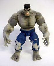 """MARVEL LEGENDS SAVAGE GREY HULK Marvel Hasbro 7"""" Action Figure COMPLETE 2008"""