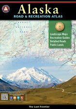 National Geographic Alaska AK Benchmark Road & Recreation Atlas BE0BENAKAT