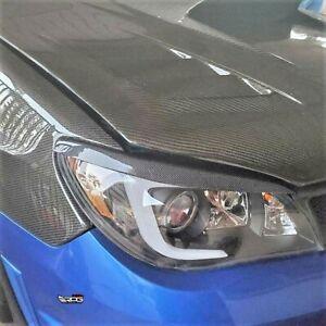 RPG Carbon Fiber Headlight Eyelid for 06-07 Subaru Impreza Hawkeye WRX STi GDF