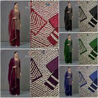 Designer Salwar Kameez Indian Pakistani Suit PartyWear Dress Bollywood Ethnic KB