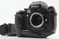【EXC+++++】 Nikon F4s 35mm SLR Film Camera Body w/ Strap Screen Type E From JAPAN