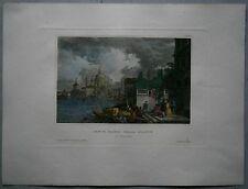 1833 Meyer print SANTA MARIA DELLA SALUTE, VENEZIA VENICE, ITALY (#33)