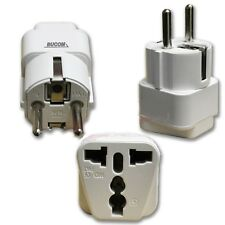 220V Reise Strom Netz Adapter Stecker auf EU von US american UK China Kupplung