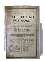 Prospecting for Gold by Ion Idriess  Ninth Edition 1946 ~ Rare Collectable Book