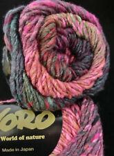 100 g NORO KAGAYAKI - japanisches Farbverlaufsgarn, Farbe 3 Lot A  #3986