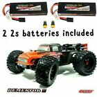 COMBO Team CORALLY V2 1/8 Dementor W/ 2 2S LIPO BATTERIES XP 4WD Brushless ARRMA