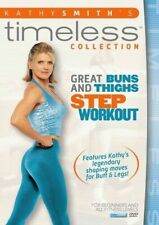 Kathy Smith Timeless Great Buns and & Thighs Step Aerobics Workout DVD R4