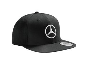 original Mercedes-Benz Flat Brim / Cap / Snapback / Basecap Herren, schwarz