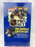 1990 Pro Set NHL Hockey FACTORY Sealed HOBBY Box Series 1 - 36 Unopened Packs