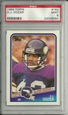 1988 TOPPS 150 D.J. DOZIER RC FIRST ROUND DRAFT PICK PSA 9