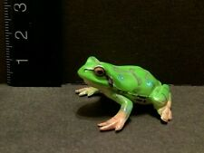 Kaiyodo ChocoQ Japanese Green Tree Frog Mini Figure Special Color Version