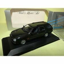 Voitures de tourisme miniatures noirs MINICHAMPS