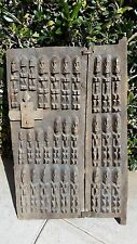 Authentic African Carved Wooden Dogon Death Door