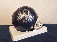 Nnamdi Asomugha, Signed, Auto, 2011 Pro Bowl Mini Helmet, Raiders, RARE