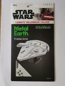 Star Wars Metal Earth Lando's Millennium Falcon ICONX model kit