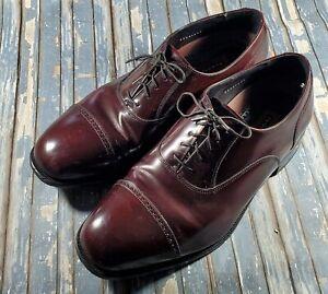 Florsheim 17067-05 Lexington Men's Burgundy Leather Cap Toe Dress Oxfords 12 3E