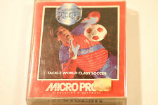 Micro prose Soccer  - ZX Spectrum Game 48K  BY Microprose  1989