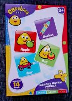 CBEEBIES BUGBIES Memory Game Kids Cards Puzzle Learning Shape Mix and Match BNIB