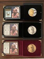 Michael Jordan Highland Mint Magnum (Jumbo) L/E 3 Coin Set All #'s Match (#133)